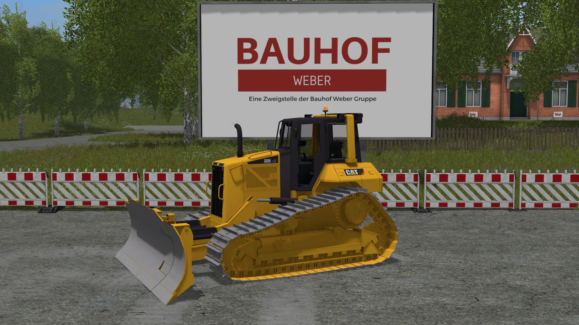 Cat D6N Bulldozer