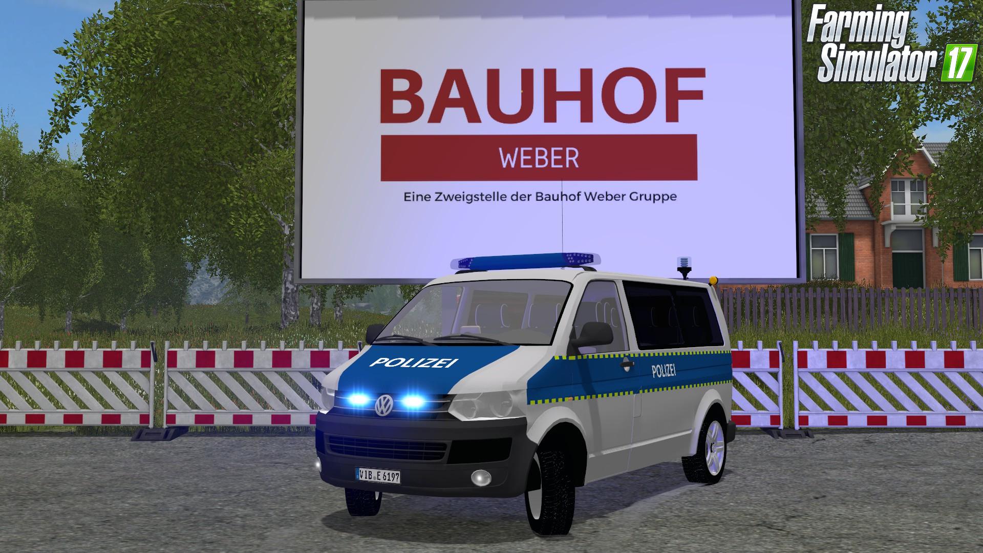 VW T5 Polizei