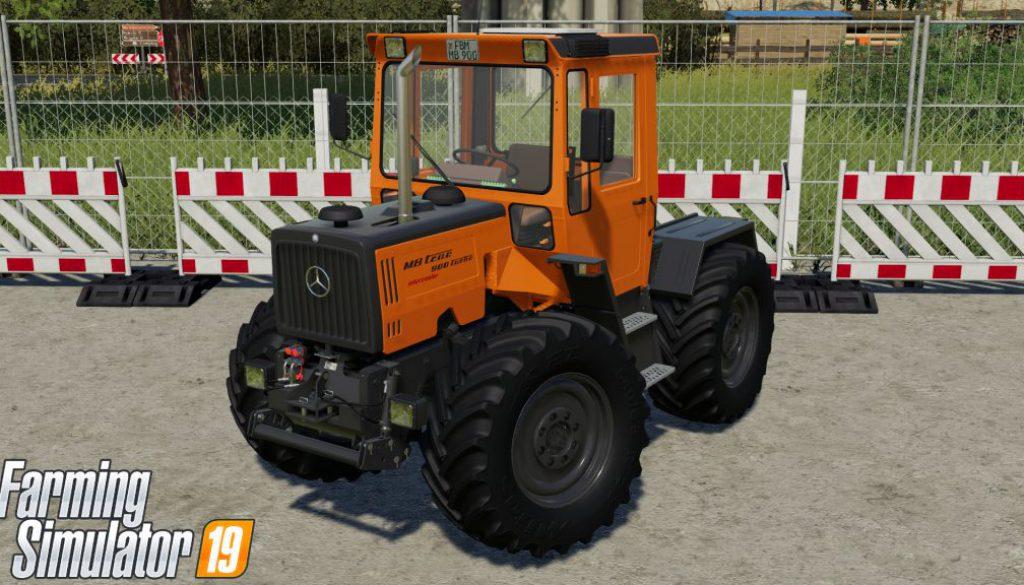 mb trac, ls19, farming simulator 19, b3nny, bauhof weber, moddingcontest