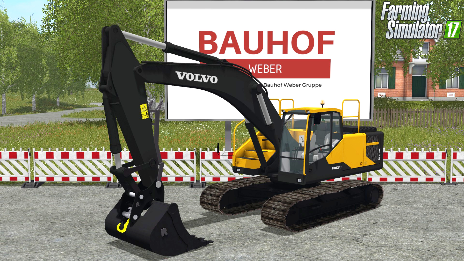 Volvo EC300 Bagger
